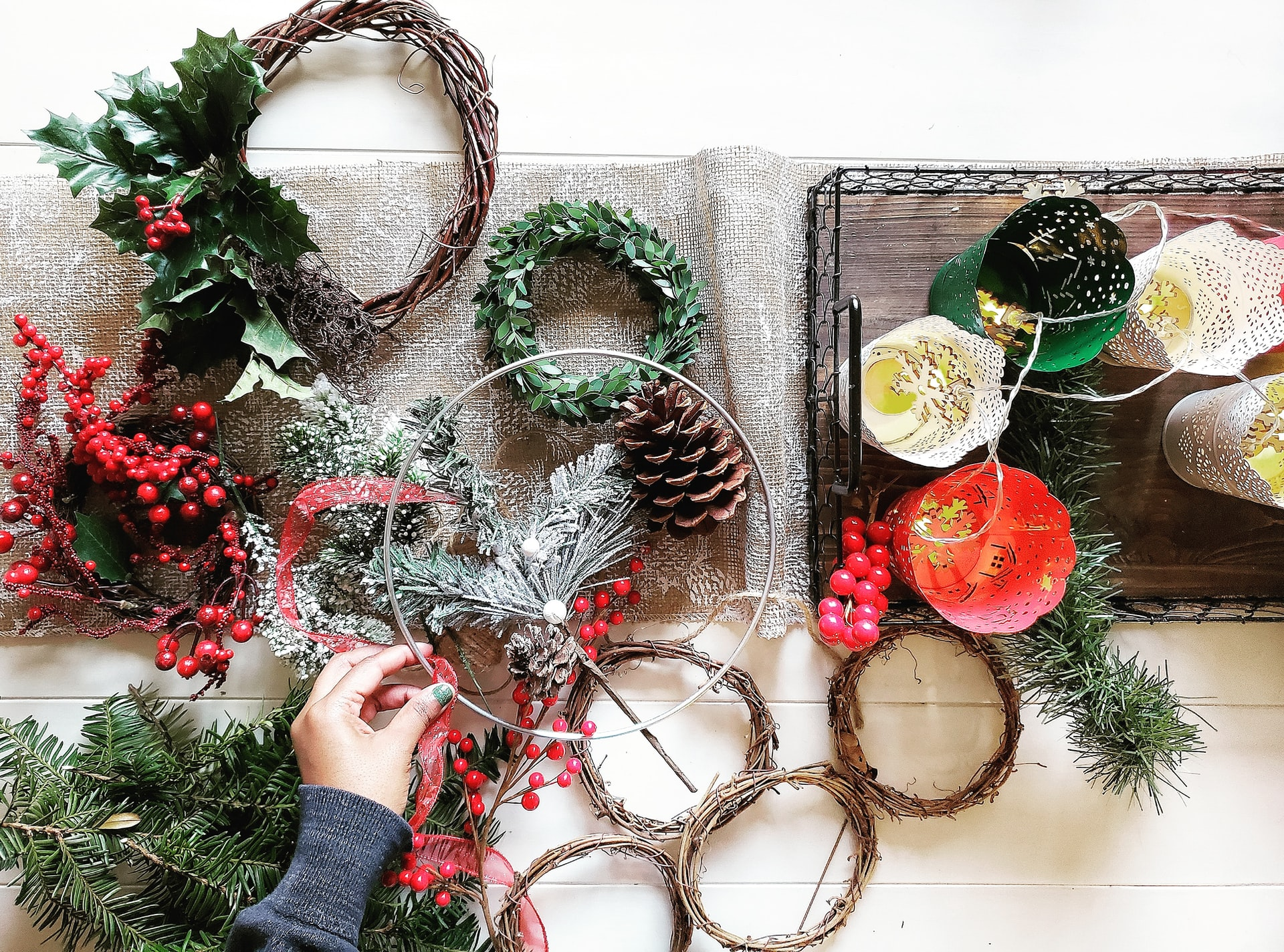 How Can I Decorate My Hallway for Christmas?